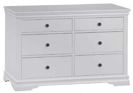 Stratford Grey Painted 6 Drawer Chest